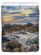 Morning On Casco Bay Duvet Cover