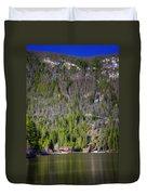 Morning On Grand Lake Duvet Cover