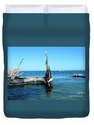 Morning On Longboat Key Duvet Cover