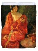 Morning Reflections 1910 Duvet Cover