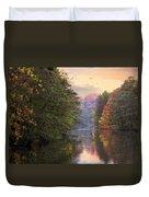 Morning River View  Duvet Cover