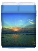 Morning Sea Foam Duvet Cover
