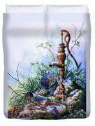 Morning Shower Duvet Cover by Hanne Lore Koehler