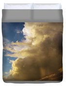 Morning Sky After The Storm Duvet Cover