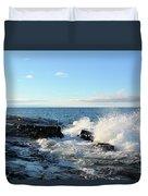 Morning Splash 2 Duvet Cover