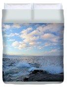 Morning Splash Duvet Cover