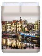Morning Stillness, Ghent Duvet Cover