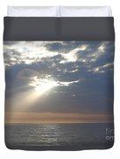 Morning Sunburst Duvet Cover