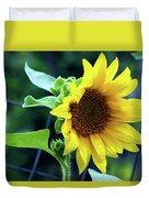 Morning Sunflower Duvet Cover