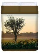 Morning Sunflowers Duvet Cover