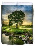 Morning Tree Duvet Cover
