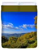 Early Fall Morning View Duvet Cover