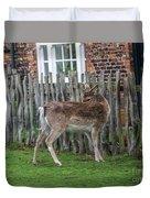 Morning Visitor Duvet Cover