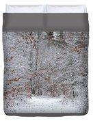 Morning Walk Duvet Cover