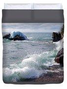 Morning Waves Duvet Cover