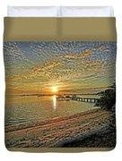 Mornings Embrace Duvet Cover