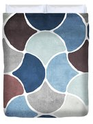 Moroccan Blues  Duvet Cover by Mindy Sommers
