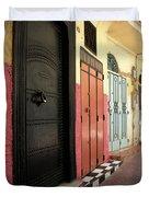 Moroccan Doors Duvet Cover