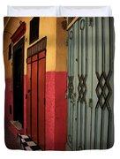Moroccan Doors Ll Duvet Cover