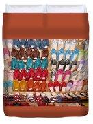 Moroccan Shoes 3 Duvet Cover