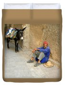 Moroccan Taxi Duvet Cover
