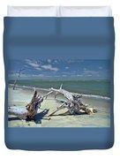 Morris Island Driftwood Duvet Cover