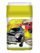 Morris Mini Cooper S Duvet Cover