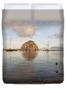 Morro Rocks Duvet Cover