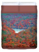 Morrow Mountain Overlook Duvet Cover
