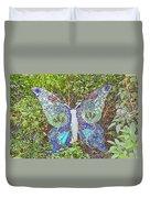 Mosaic Butterfly Duvet Cover