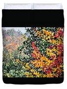 Mosaic Foliage Duvet Cover