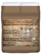 Mosaic From Pompeii Duvet Cover