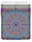 Mosaic Kaleidoscope  Duvet Cover
