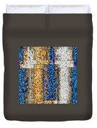 Mosaic Magic Duvet Cover