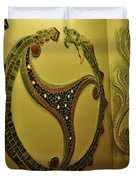 Mosaic Serpent Duvet Cover