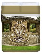 Mosaic Stone Bandstand In Anacortes Duvet Cover