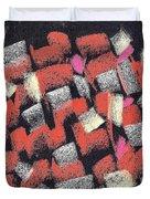 Mosaics Multicolor Duvet Cover