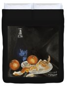 Moscato And Tangerines Duvet Cover