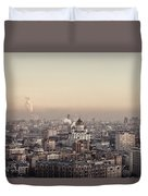 Moscow At Dusk Duvet Cover