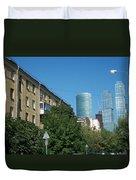 Moscow Business Centre Duvet Cover