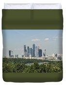 Moscow Skyline Duvet Cover