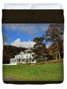 Moses Cone Flat Top Manor Duvet Cover