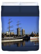 Moshulu And The City Duvet Cover