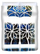 Mosque Foyer Window 1 White Duvet Cover