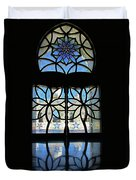 Mosque Foyer Window 2 Duvet Cover