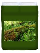 Moss Covered Log 2 Duvet Cover