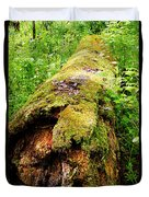 Moss Covered Log 3 Duvet Cover