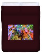 moss of Color Duvet Cover