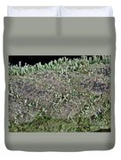 Moss Trees Duvet Cover