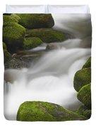Mossy Boulders Duvet Cover